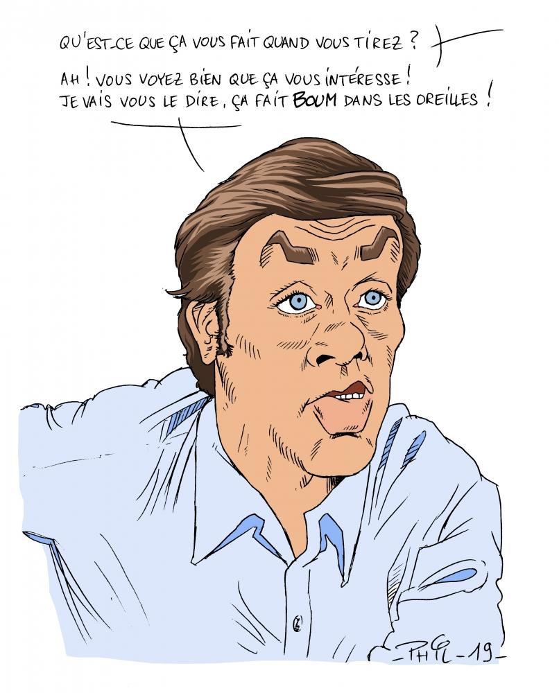 Alain Delon by MaxSand70